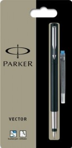 parker vector fountain pen